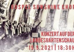 Konzert auf der Landesgartenschau 19.9.21, 18:30 Uhr